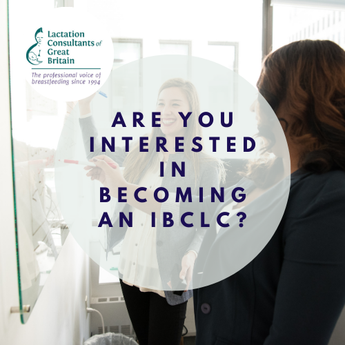 Are you interested in becoming an IBCLC?